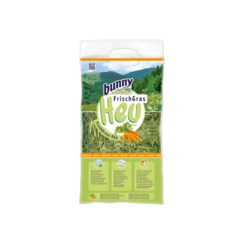 Bunny-nature-Fresh-Grass Hay carrots