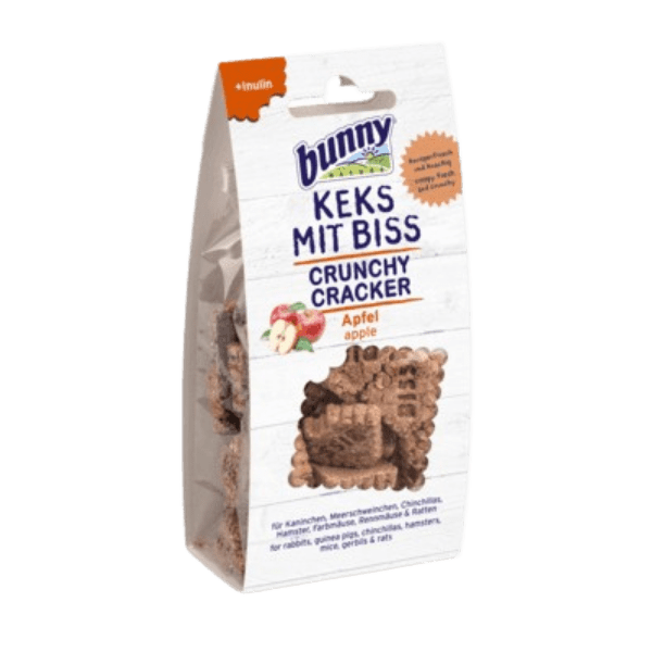 Bunny Nature Crunchy Cracker almás 50 gr