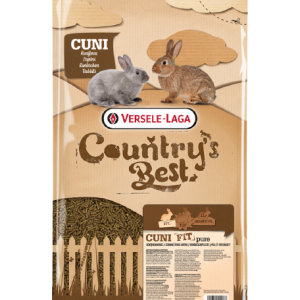Versele-Laga Country's Best Cuni Fit PURE nyúltáp