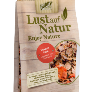 Bunny Nature Lust auf Nature favourite Vitamin pack zöldségkeverék céklával 50 gr