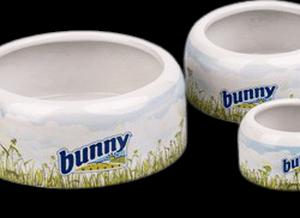 Bunny Nature kerámia etető itató tál 500 ml