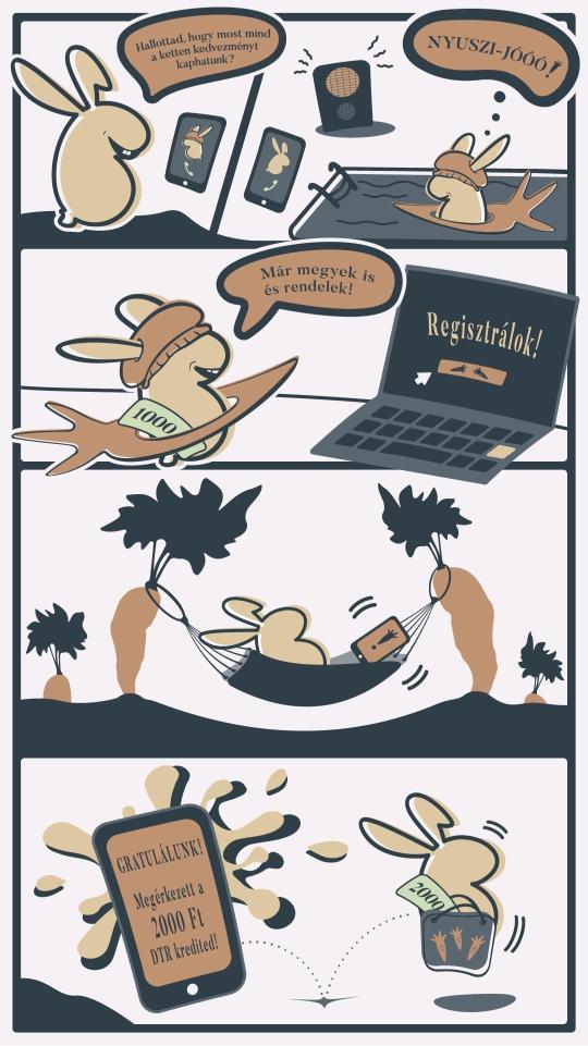 DTR bunny barat meghivasa