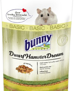 Bunny Nature Dwarf Hamster Dream Basic törpehörcsög táp 400 gr