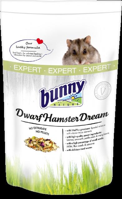 Bunny Nature Dwarf Hamster Dream Expert torpe horcsog tap 500 gr