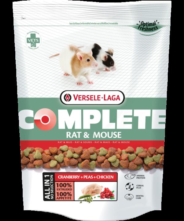 Versele-Laga Rat & Mouse Complete patkany es eger tap 500 gr