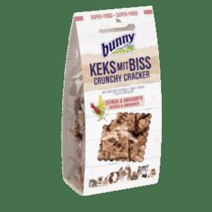 Bunny Nature Crunchy Cracker quinoa és amaránt 50 gr
