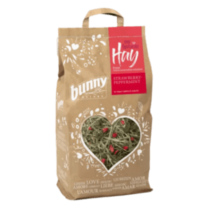 Bunny Nature My Favorite Hay széna from Nature Conversation Meadows Strawberry Peppermint 100 gr