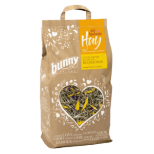 Bunny Nature My Favorite Hay széna from Nature Conversation Meadows Sunflower & Malva blossoms 100 gr