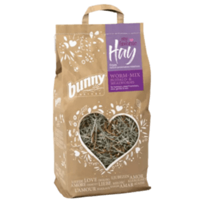 Bunny Nature My Favorite Hay széna from Nature Conversation Meadows Worm mix Buffalo Mealworms 100 gr