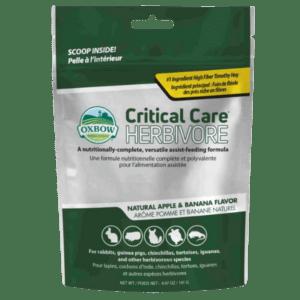 Oxbow Critical Care Apple Banana állatorvosi táp